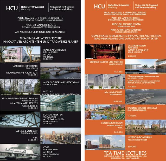 hafencity universit t hamburg hcu tea time lectures. Black Bedroom Furniture Sets. Home Design Ideas